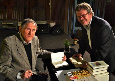 Hartmut Lange und Moderator Dr. Achim Jaeger