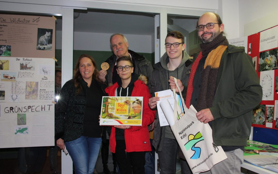 Das Stiftische Gymnasium ist seit 10 Jahren Nationalpark-Schule Eifel