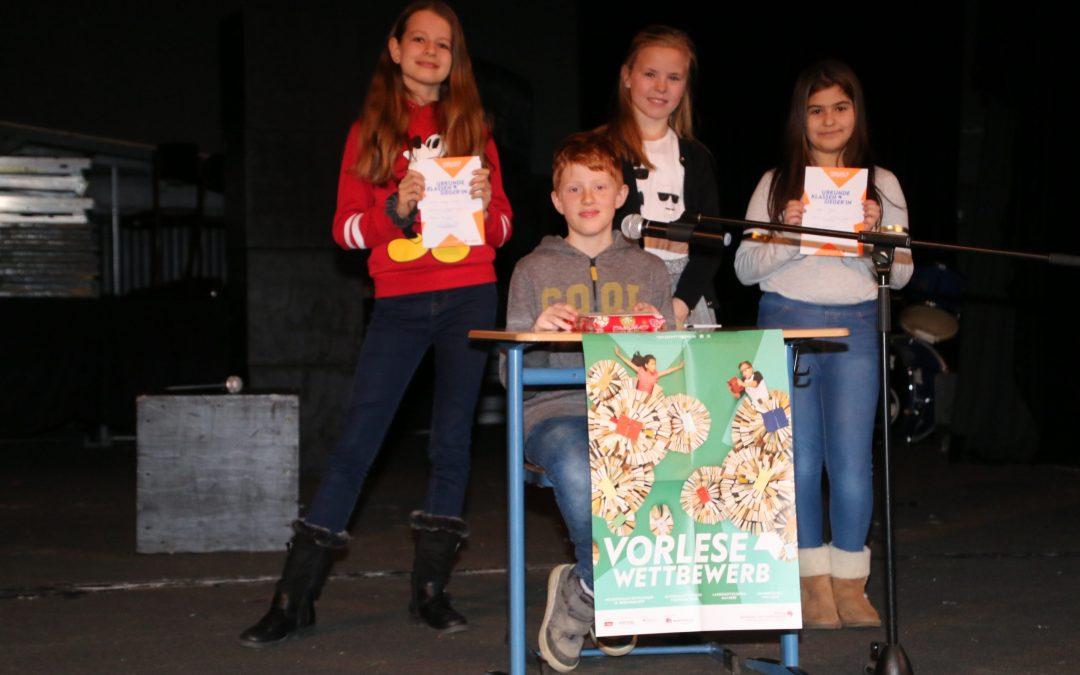 Vorlesewettbewerb 2019/2020: Mats Heidbüchel gewinnt Schulentscheid
