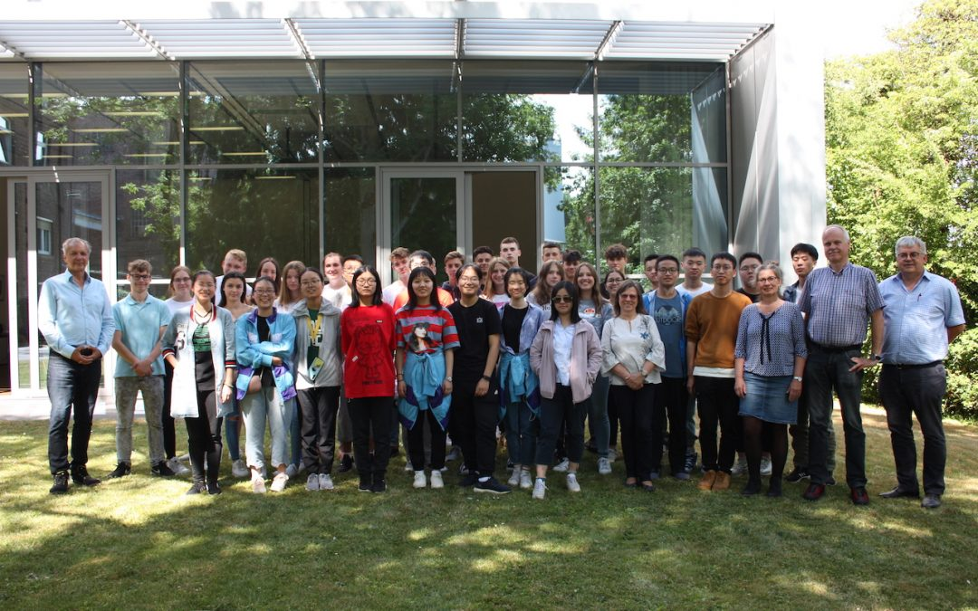 Austausch mit China – Besuch der Schülergruppe aus Jinhua im Juli 2019