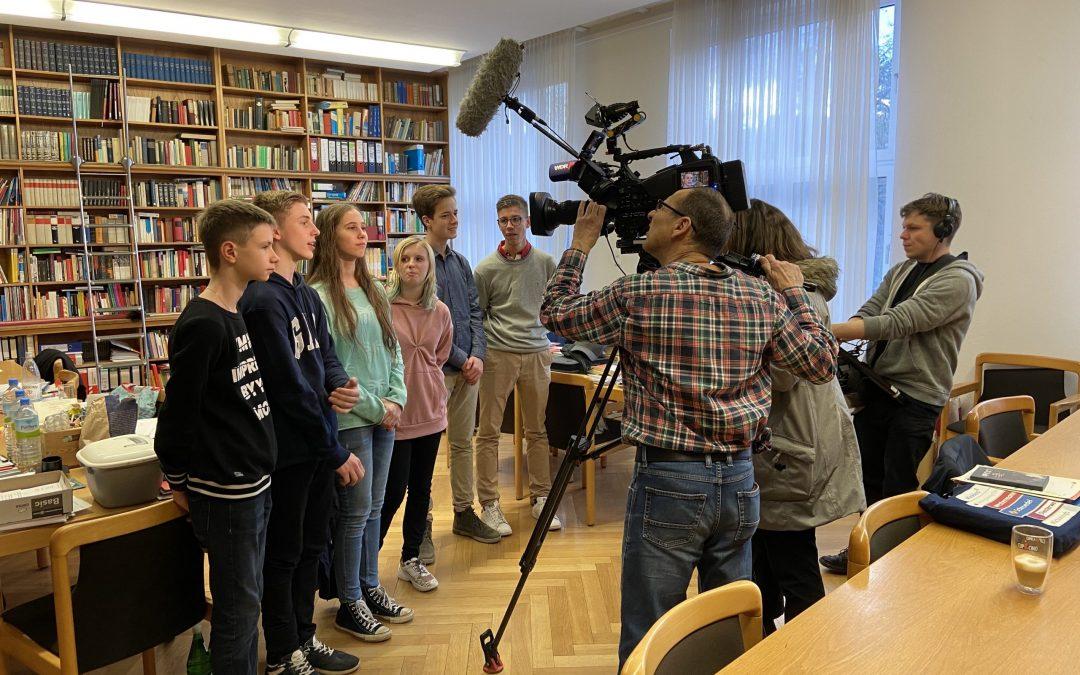 WDR Fernsehen dreht bei der Schülerzeitung