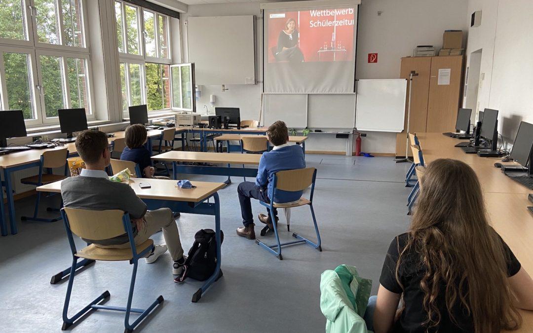 """Schülerzeitung """"Altenteich"""" erneut ausgezeichnet"""