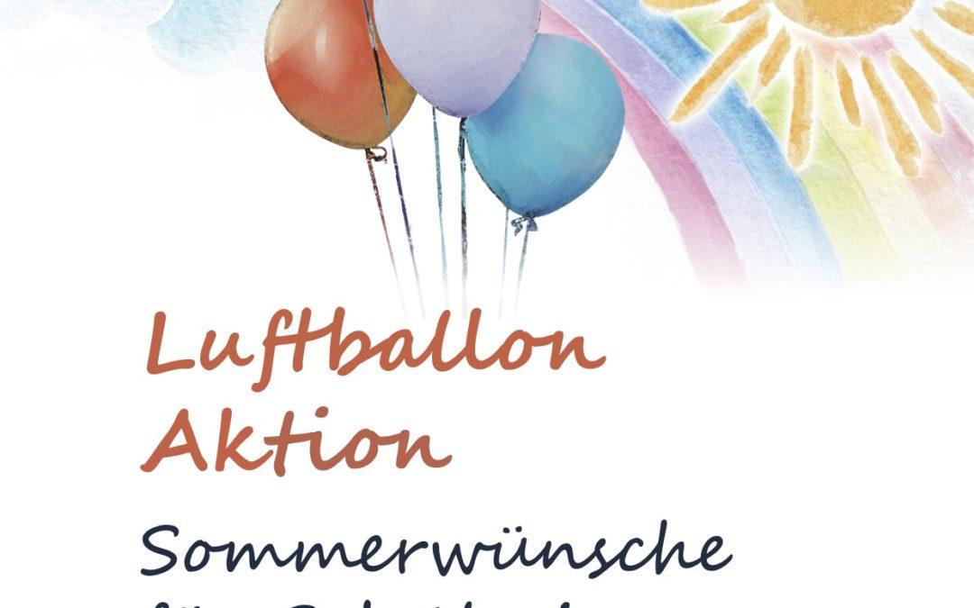Luftballonaktion: Sommerwünsche für Schülerinnen und Schüler