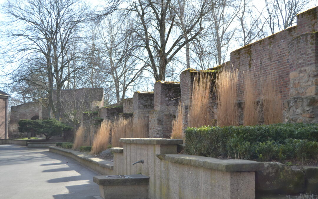 Informationen zur Dürener Stadtmauer am Tag des offenen Denkmals 2020