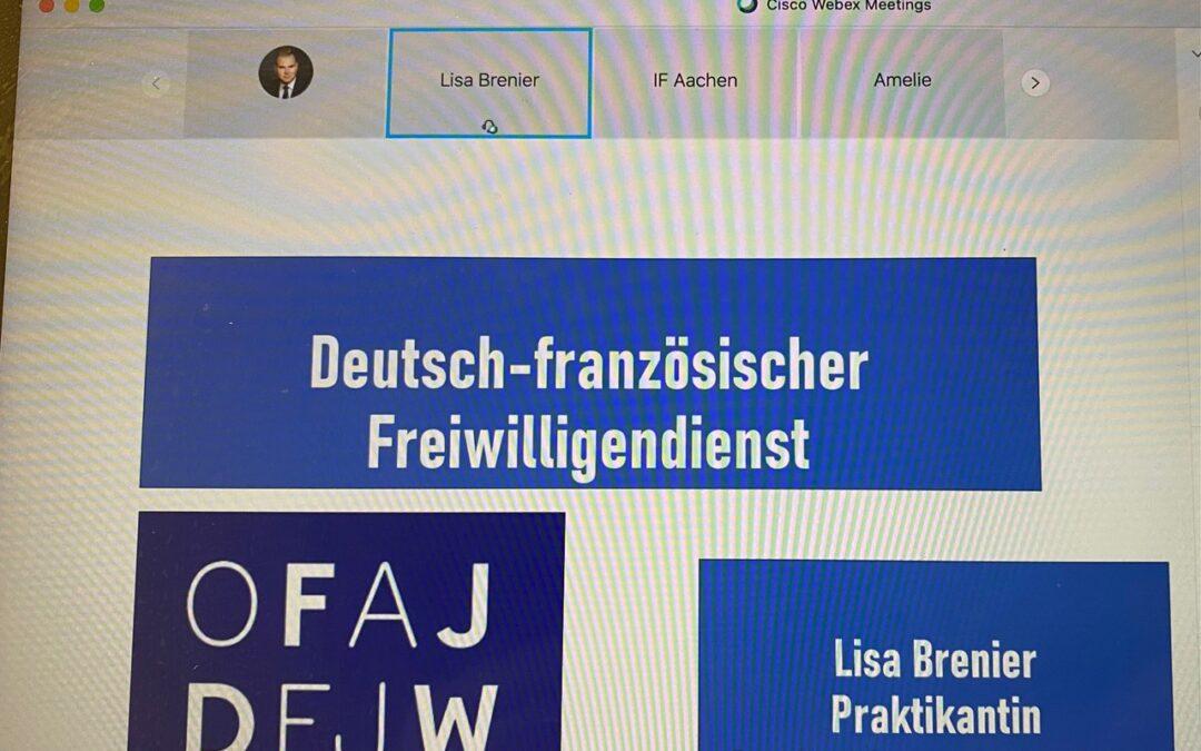 """Que faire après le bac? – Atelier """"deutsch-französische Berufs- und Studienmöglichkeiten"""" des Institut ƒrançais Aachen am Stift"""