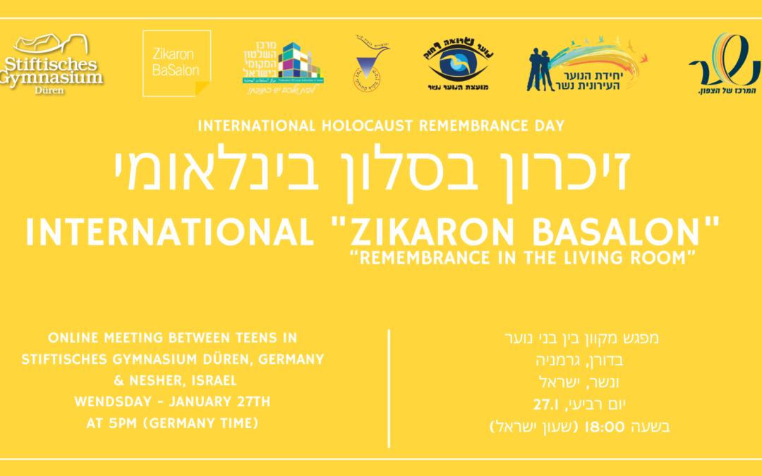 Besondere Begegnungen am Holocaust-Gedenktag