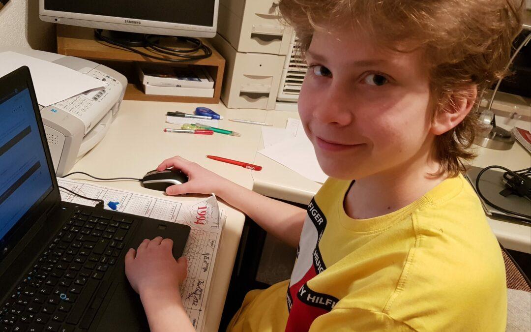 """""""Jugend debattiert"""" trotzt Corona – Gero Bongartz siegt im Regionalwettbewerb"""