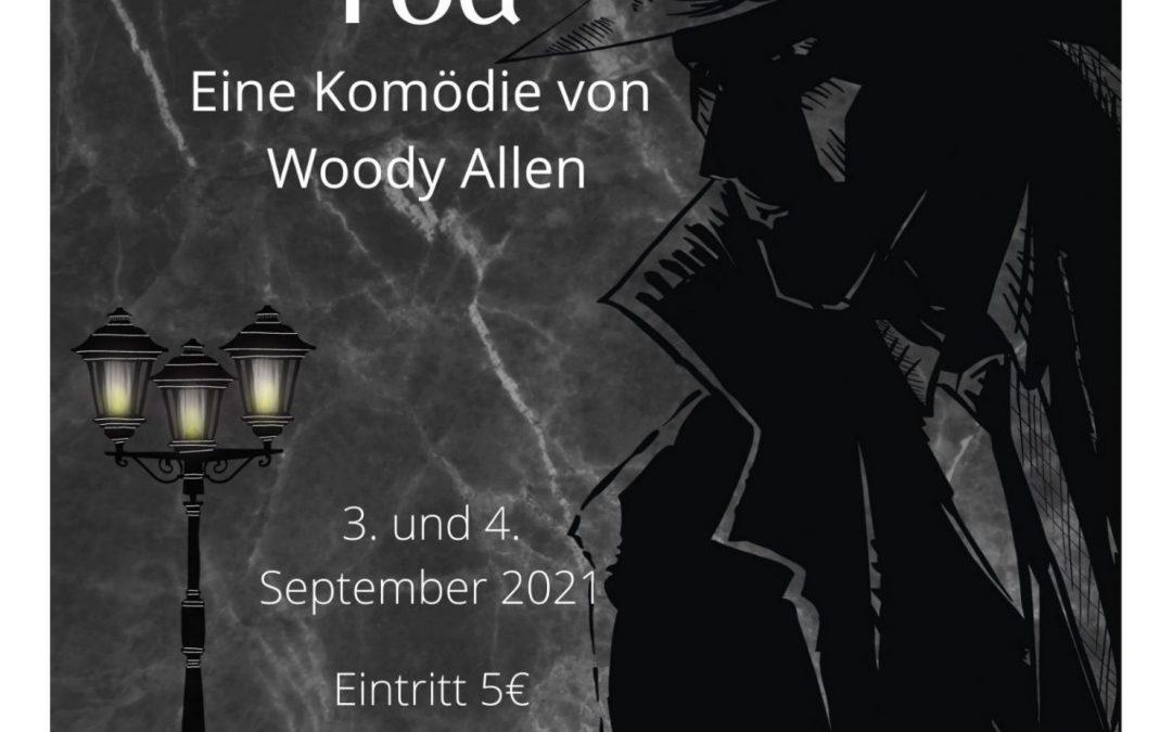 """Ankündigung: """"Tod"""" von Woody Allen – Aufführungen des Literaturkurses"""