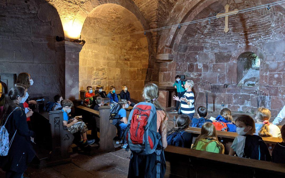 Berührung mit der Geschichte: Ein Ausflug in das Mittelalter