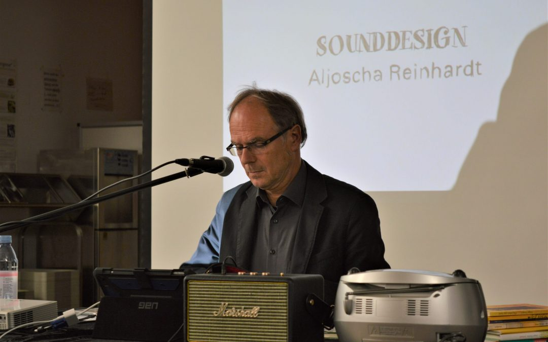 Lesung und Gespräch mit Jürgen Nendza am Stiftischen Gymnasium