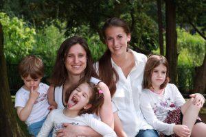Jana Müller und ihre Aupair-Familie in Paris 2013/14
