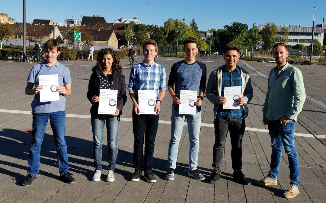 Stiftisches Gymnasium beim Bonner Mathematikturnier 2019