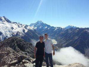 Fabian Pohl und Tobias Berger auf den Gipfeln Neuseelands