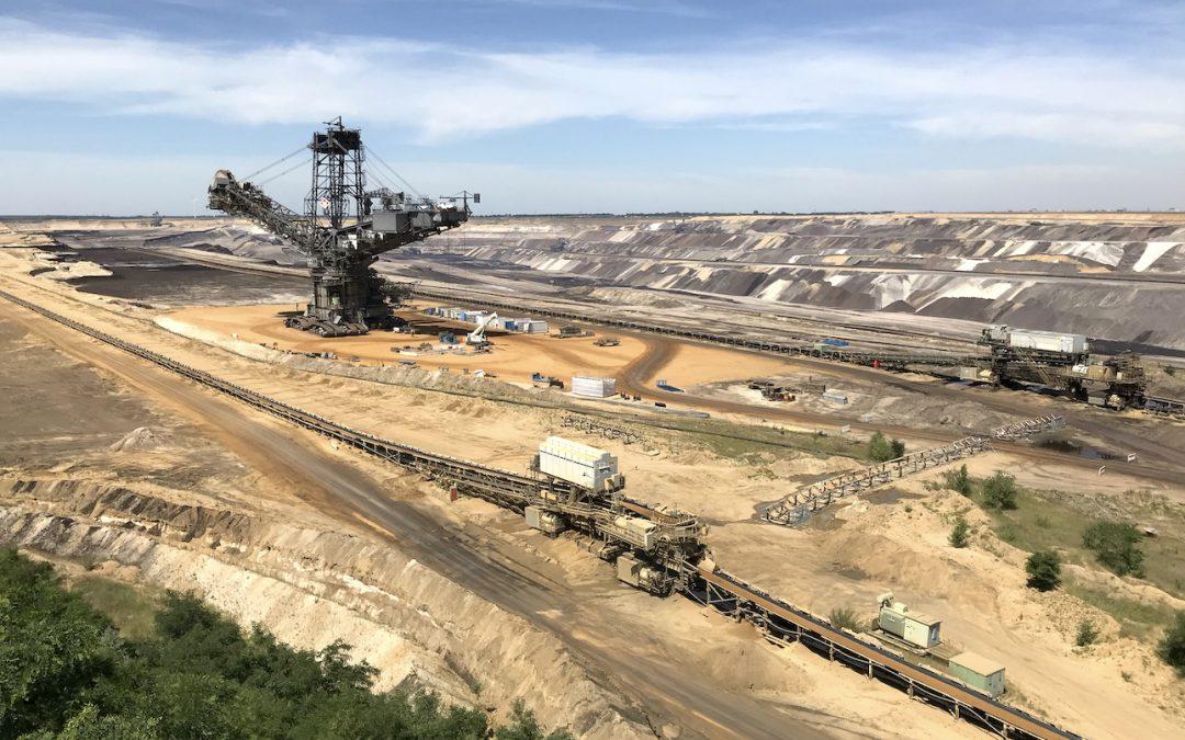 Erdkunde-Exkursion zum Tagebau Garzweiler