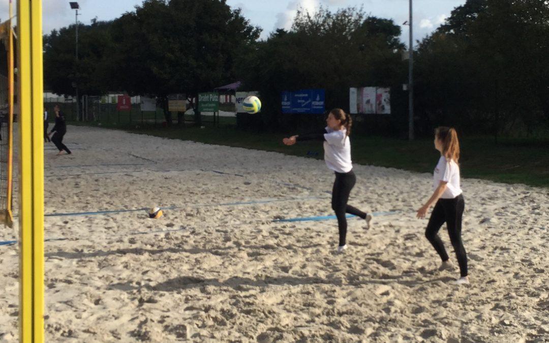 Beachvolleyball-Team gewinnt Kreismeisterschaft