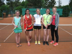 Mannschaftsfoto Tennis Mädchen WKIII 13.05.2016 Homepage