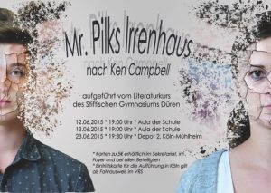 Plakat_Mr. Pilks Irrenhaus