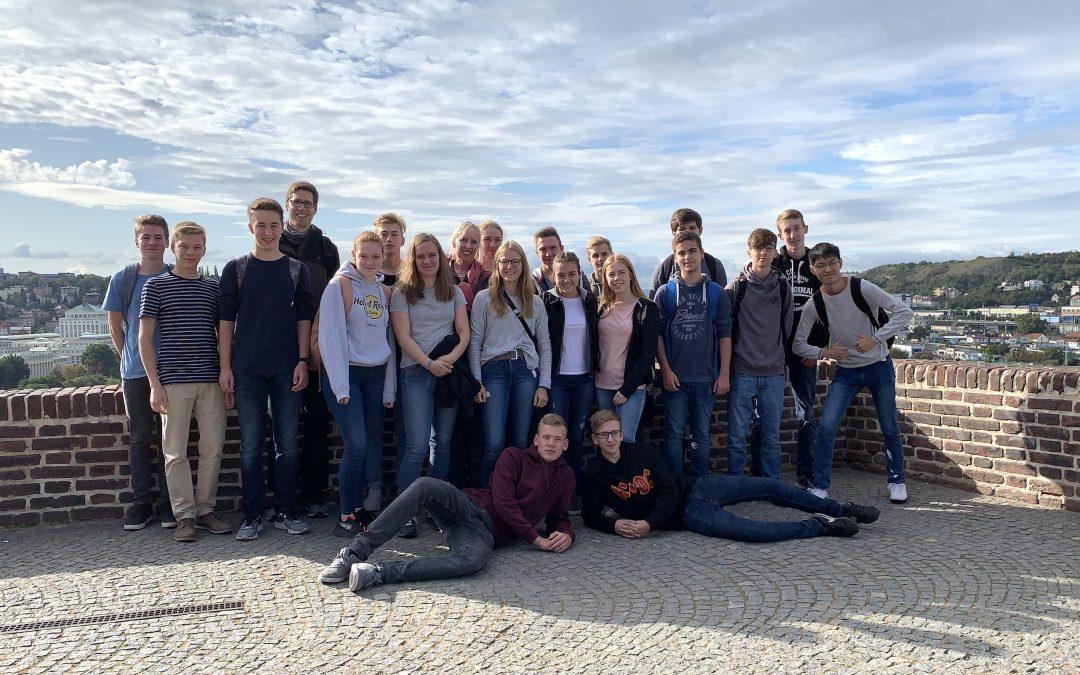 Studienfahrt des Mathematikleistungskurses nach Prag 2019