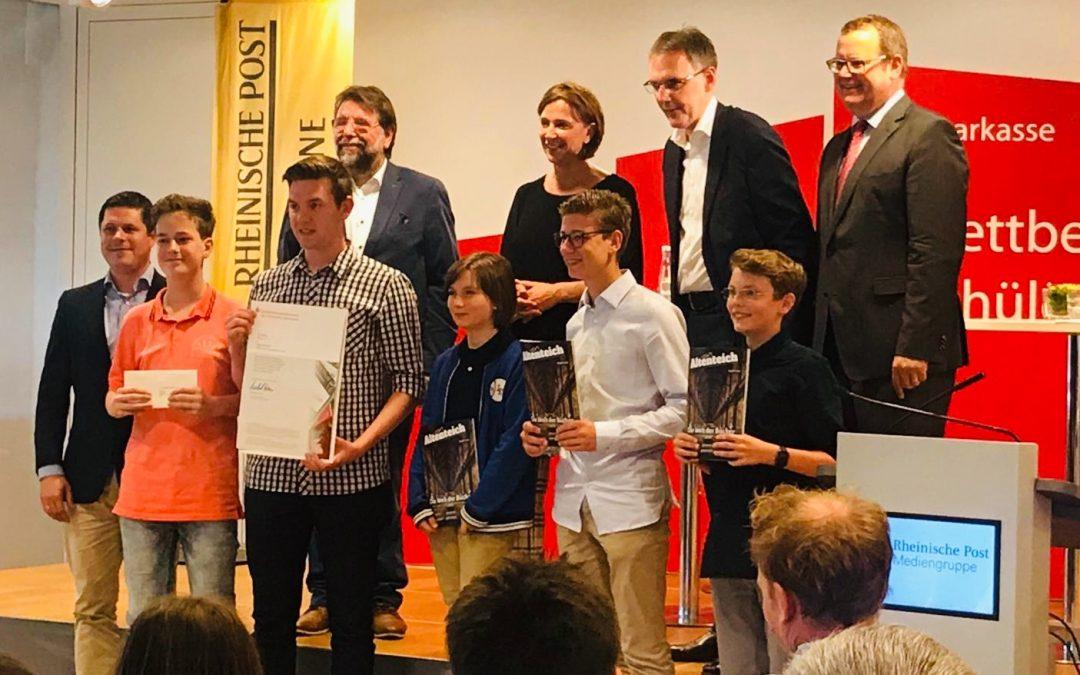 """""""Altenteich"""" gewinnt erneut den Schülerzeitungswettbewerb"""