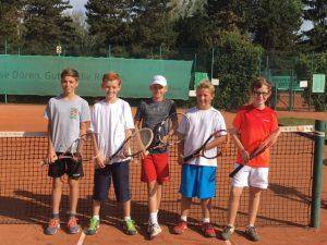 Tennis Jungen WKIII 05.09.2016 Homepage