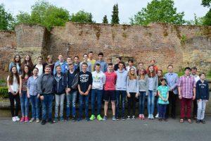 Gruppenfoto unserer Teilnehmer am Osteuropa-Wettbewerb